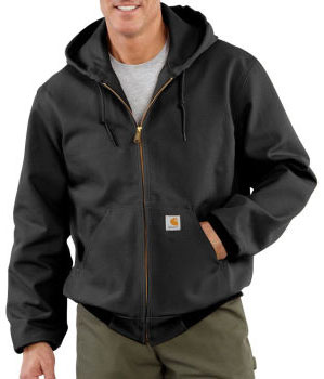 Carhartt: Men's Duck Active Jac/Thermal Lined Jacket
