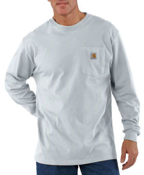 Carhartt: Men's Long Sleeve Workwear Pocket T-Shirt K126