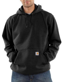 Carhartt: Men's Midweight Hooded Pullover Sweatshirt K121