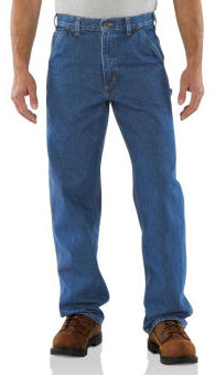 Carhartt: Men's Signature Denim Work Dungaree B237
