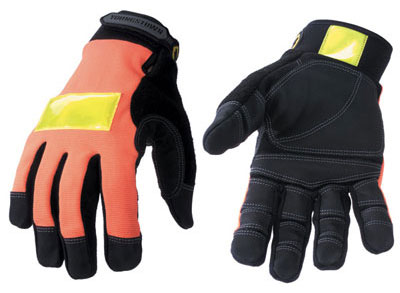 Youngstown Safety Orange Utility Gloves