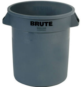 BRUTE® 10 Gallon Round Container without Lid
