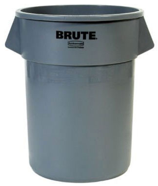 BRUTE® 20 Gallon Round Container without Lid