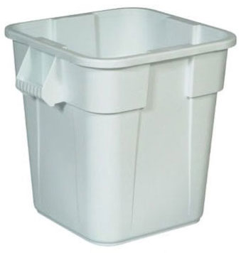 BRUTE® 28 Gallon Square Container without Lid