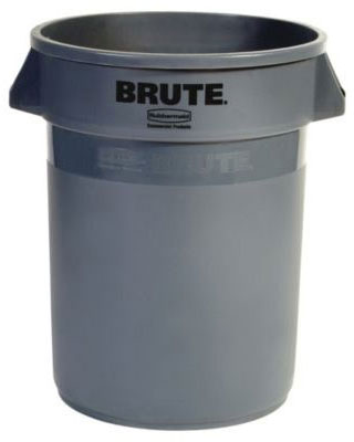 BRUTE® 32 Gallon Round Container without Lid