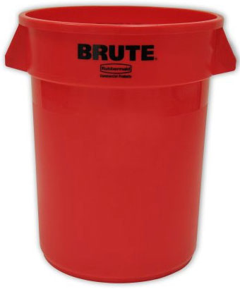 BRUTE® 44 Gallon Round Container without Lid
