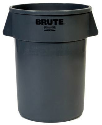 BRUTE® 55 Gallon Round Container without Lid