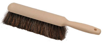 Laitner Blended horsehair/black synthetic counter duster