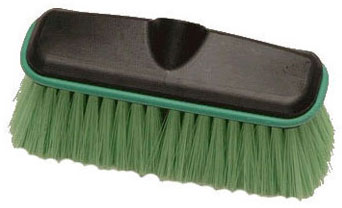 Laitner Green Nylex All Purpose Flow-Thru Wash Brush