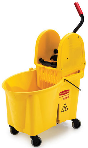 Janitorial Mop Buckets Wringers