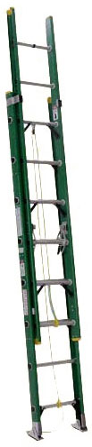 Michigan Ladder Extra Heavy Duty Industrial Fiberglass Extension Ladder