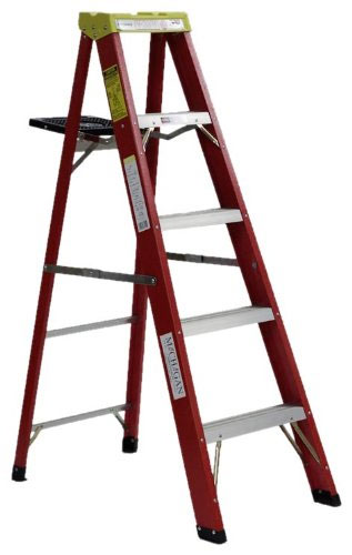 Michigan Ladder Commercial Duty Fiberglass Step Ladder