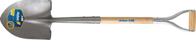 Jackson J-350 Blue Max Round Point Shovel with Armor D-grip