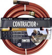 Swan 50ft. Contracor+ Water Hose pt#SNCG58050