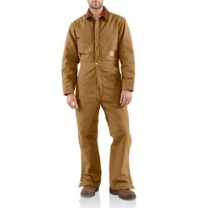 Carhartt: Men's Duck Coverall/Quilt-Lined X01