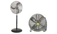 Airmaster Pedestal Commercial Air Circulator 24""