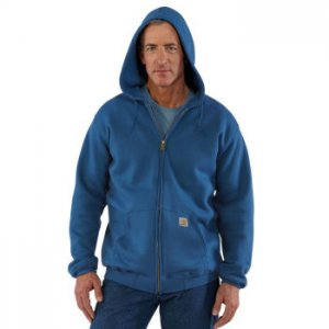 Carhartt: Men's Midweight Hooded Zip-Front K122