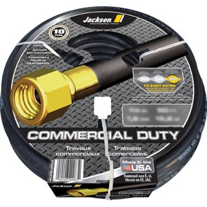 Jackson Commercial Duty Water Hose 50ft. pt#4008300A