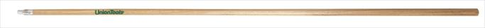 "Union 60"" Wood Handle with Metal Threaded Tip"
