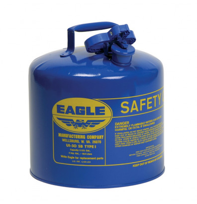 Eagle Safety Can Type I Steel 5 Gallon Blue