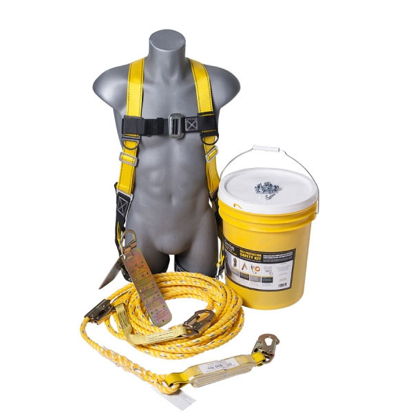 Guardian Fall Protection Safety Kit / Bucket of Safe-Tie