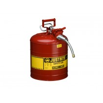 Justrite Safety Can Type II Steel 5 Gallon Red