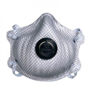 Moldex 2400N95 Particulate Respirator Plus Nuisance Levels of Ozone and Organic Vapors