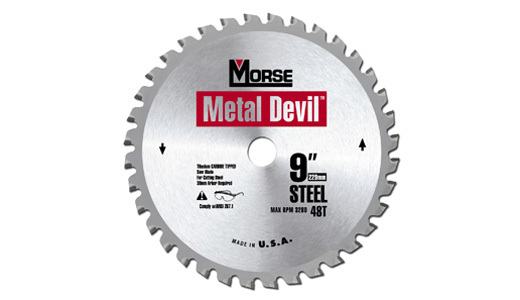 "M.K. Morse Metal Devil 7-1/4"" 40 Tooth Circular Saw Blade"